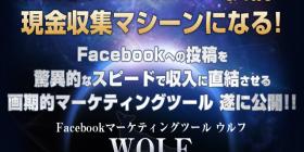 Facebookマーケティングツール WOLF